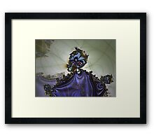 Storm Wizard Framed Print