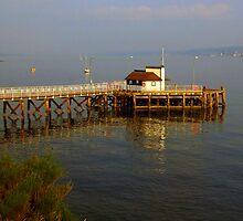 Kilcreggan Pier by Alexander Mcrobbie-Munro