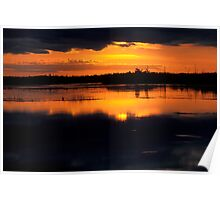Late Evening at Dollarville Poster