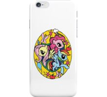 pinkie pie, fluttershy and rainbow dash iPhone Case/Skin
