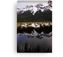 Mirror Lakes 2 Canvas Print