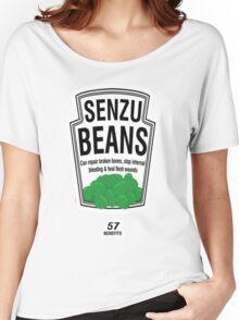 Senzu Beans Women's Relaxed Fit T-Shirt