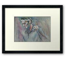 Roger Federer - 2 Framed Print