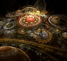 I Dream In Fractals by Bunny Clarke