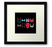 Bat Family Framed Print