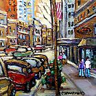 The Ritz Carlton Hotel Sherbrooke Street Montreal  Best Original Canadian Paintings  by Carole  Spandau
