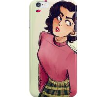 Miss Horne iPhone Case/Skin