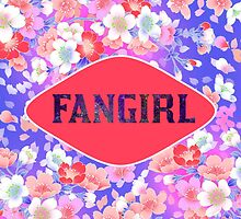 FANGIRL - FLORAL PINK by Kpop Love
