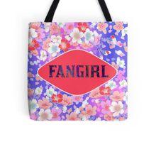 FANGIRL - FLORAL PINK Tote Bag