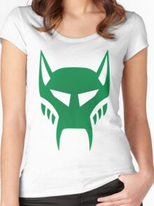 maximal logo Women's Fitted Scoop T-Shirt