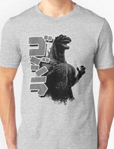Godzilla Black and White T-Shirt