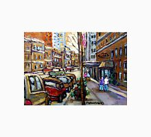 The Ritz Carlton Hotel Sherbrooke Street Montreal  Best Original Canadian Paintings  Unisex T-Shirt