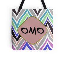 OMO - PURPLE CHEVRON Tote Bag