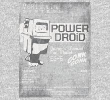 Power Droid Owners Manual Kids Clothes