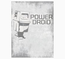 Power Droid Owners Manual One Piece - Short Sleeve