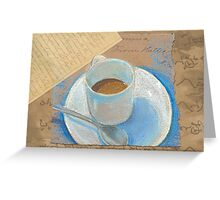 Coffee and Conversation Greeting Card
