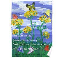 Summer Haiku Poster