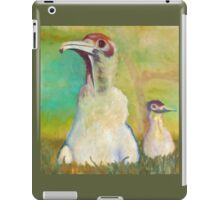 Realistic painted sweet little birds iPad Case/Skin
