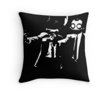 Ratchet and Clank Pulp Fiction Throw Pillow