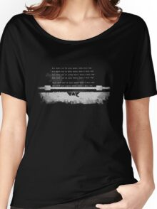 All work typed White Women's Relaxed Fit T-Shirt
