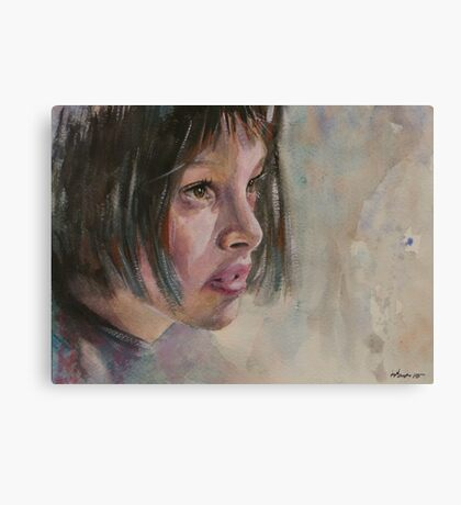 Matilda - Leon - The Professional - Natalie Portman Canvas Print