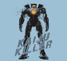 Kaiju Killer Darkness Kids Clothes