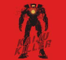 Kaiju Killer Darkness One Piece - Long Sleeve