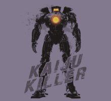 Kaiju Killer Darkness Kids Tee