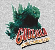 Godzilla King of the Monsters Kids Tee