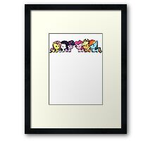 pony group Framed Print