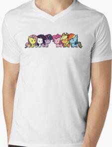 pony group Mens V-Neck T-Shirt