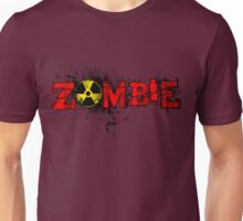 Zombie Banner Red Unisex T-Shirt