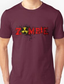 Zombie Banner Red T-Shirt