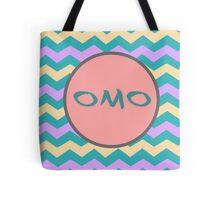 OMO - TEAL CHEVRON Tote Bag