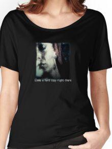 Zora Hard Copy Women's Relaxed Fit T-Shirt