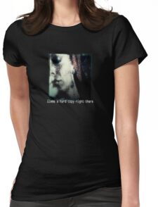 Zora Hard Copy Womens Fitted T-Shirt
