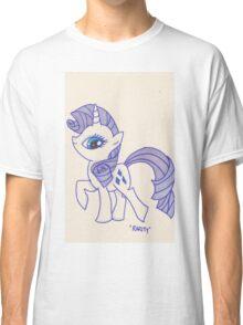 Notecard Ponies #5: Rarity Classic T-Shirt