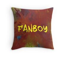 FANBOY - YELLOW Throw Pillow