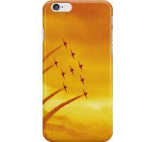 red arrows at biggin hill 2014 iPhone Case/Skin