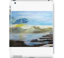 Sunrise over the hills iPad Case/Skin