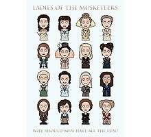 Ladies of The Musketeers (print/card) Photographic Print