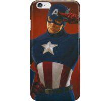 Cap Salutes You! iPhone Case/Skin