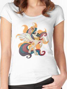 princess celestia Women's Fitted Scoop T-Shirt
