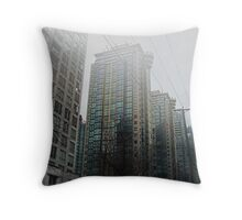 Back to the Future - II Throw Pillow