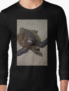 Honu Swimming Long Sleeve T-Shirt