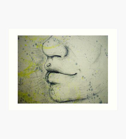 Person snout Art Print