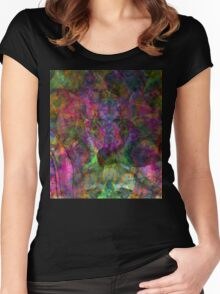 Trip-O-Vision Online Gallery Design 27: Lucid Drops Women's Fitted Scoop T-Shirt