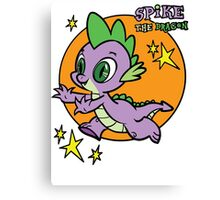 spike the dragon Canvas Print