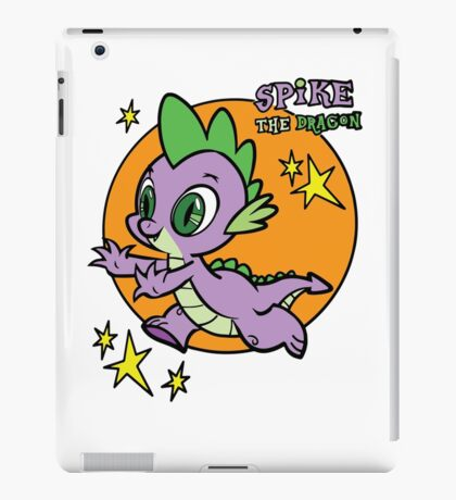 spike the dragon iPad Case/Skin