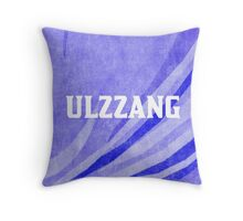 ULZZANG - BLUE Throw Pillow